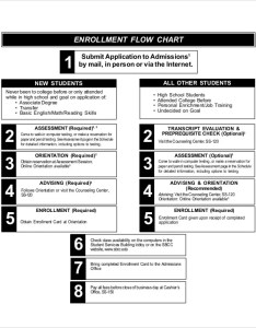 Enrollment flow also chart templates sample example free  premium rh template