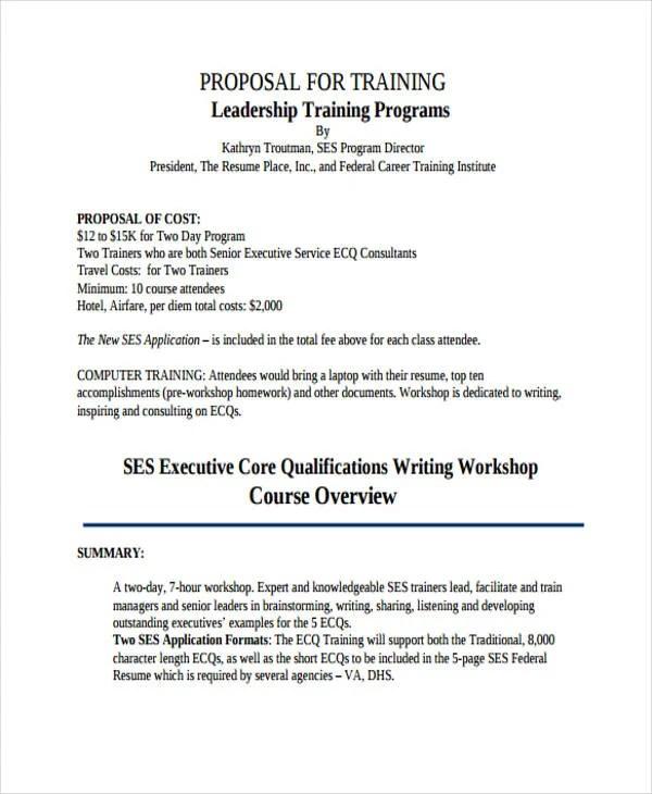53 Simple Proposal Templates Word PDF Free & Premium