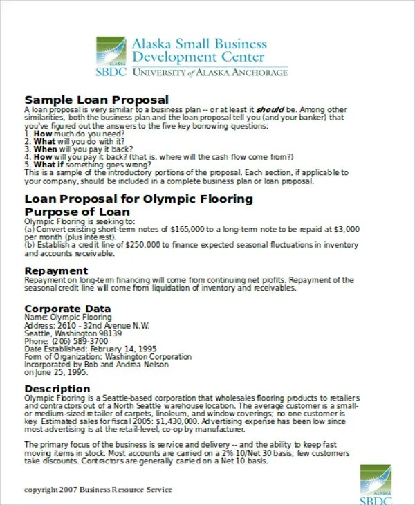 19 Small Business Proposal Templates Word PDF Free
