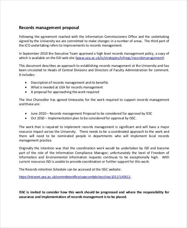 Management Proposal Templates 11 Free Word PDF Format Download Free Amp Premium Templates