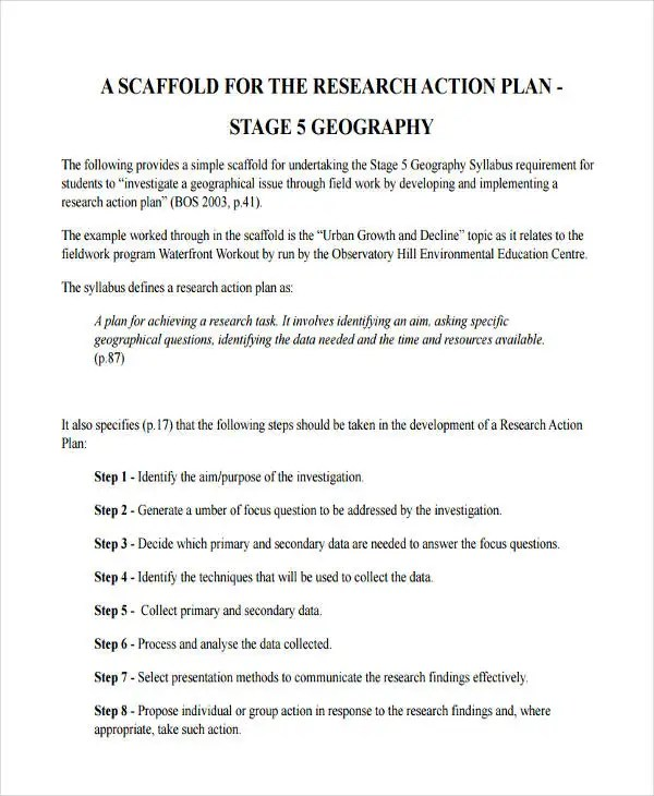 Research Plan Templates Research Essay Proposal Sample Research