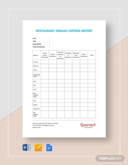 You can customize the template by changing the column headings for categorizing expenses, … 41 Expense Report Templates Word Pdf Excel Free Premium Templates