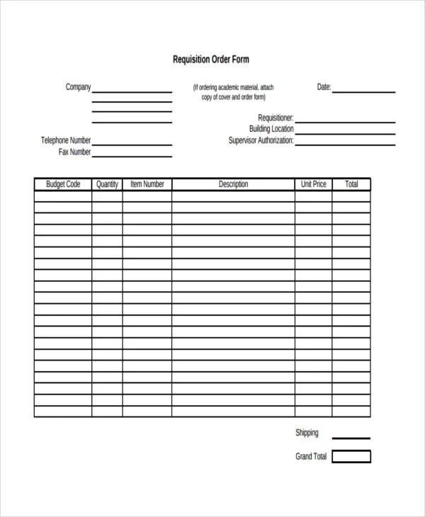 33 free order form templates & samples. 21 Free Order Templates Free Premium Templates