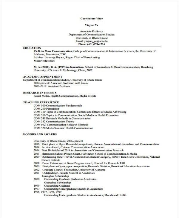 15 Social Media Resumes Templates PDF DOC Free