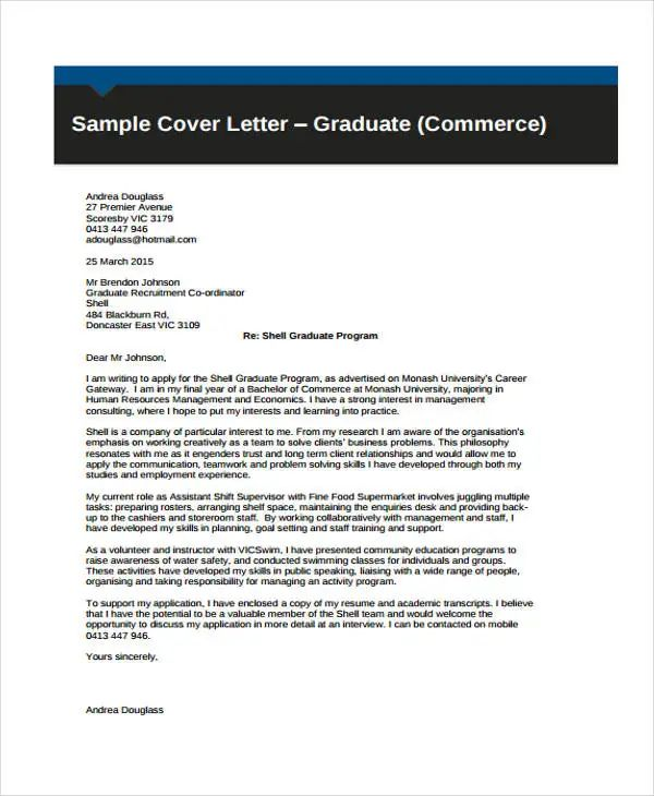 writting cover letter