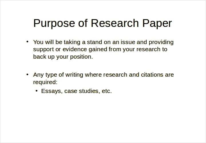 Presentation For Research Paper Coursework Academic Writing Service