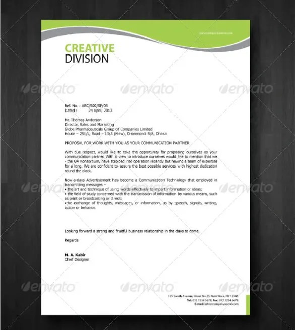 The Importance Of Letterheads In Business Letters Free