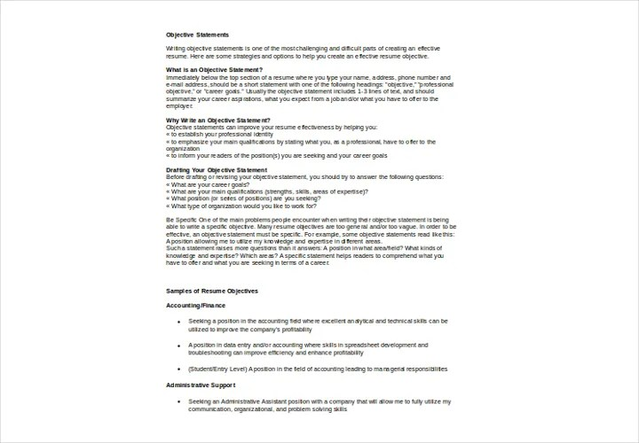 An In Depth Guide To Resumes Free \ Premium Templates   Resume General  Objective  Resume General Objective