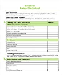 Budget Worksheet For High Schooler. Budget. Best Free ...