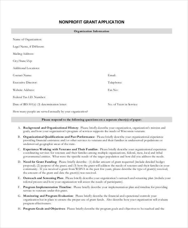 school application templates
