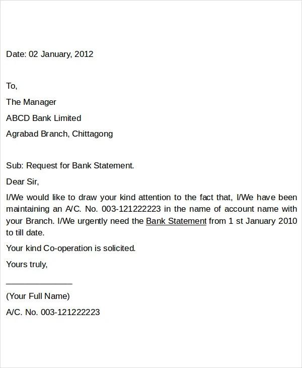 Business Letter Request Re mendation
