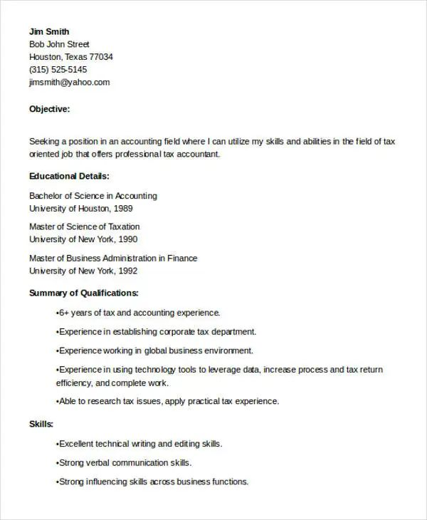 technical skills in resume for accountant
