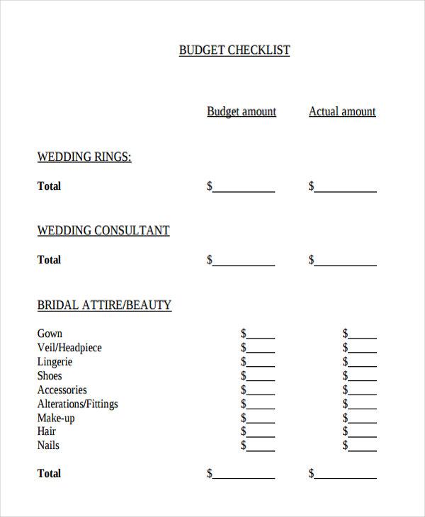32 Checklist Templates in PDF   Free & Premium Templates