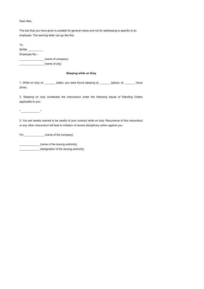 Wunderbar Job Termination Letters Zeitgenössisch - FORTSETZUNG ...