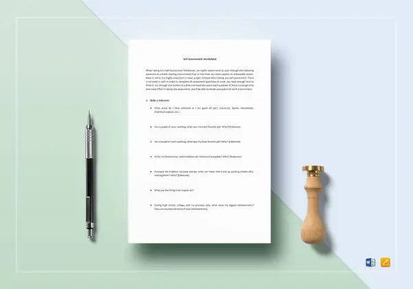 47 Assessment Templates In Word Pages Docs