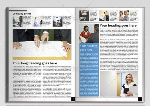 Newsletter Templates 30 PSD PDF Format Download Free