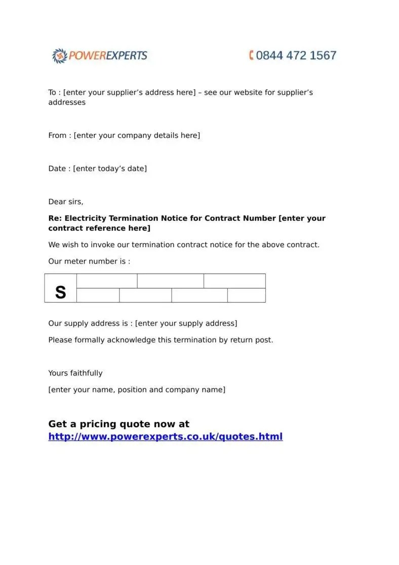 Official Termination Letter Templates Free Samples Examples
