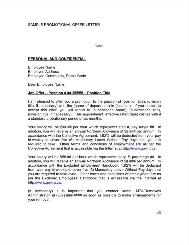 Job Promotion Congratulation Letter   lv.crelegant.com
