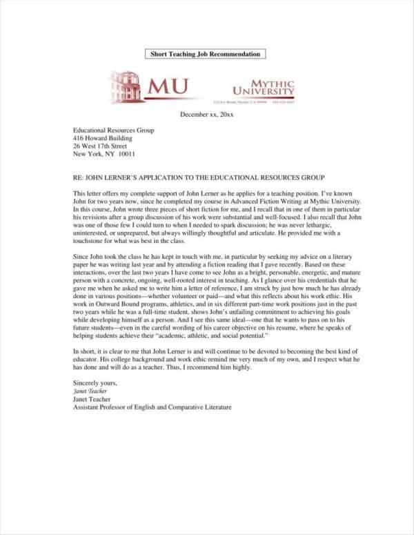 9+ Teacher Promotion Letter Templates - Free PDF, DOC ...