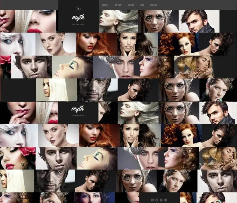Barber Shop Website Templates & Themes   Free & Premium   Free & Premium Templates