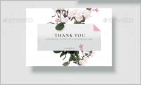 14+ Wedding Thank You Card Designs - Editable PSD, AI ...