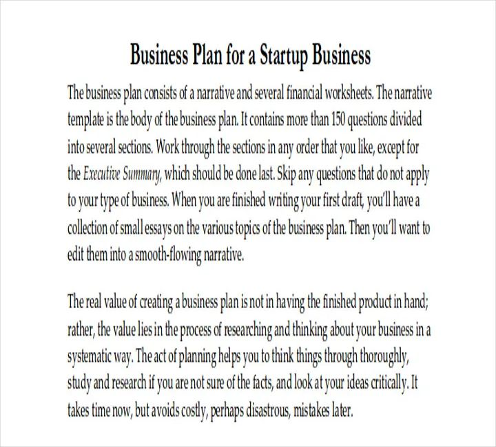 how to do a business plan template