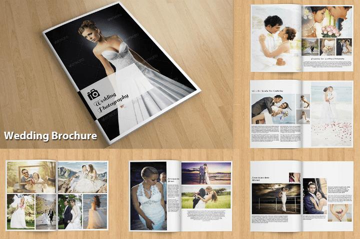14 Wedding Brochure Designs Templates Editable PSD AI