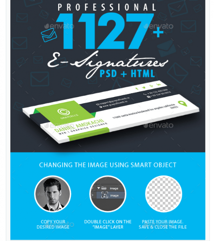 Download 19+ Marketing Email Signature Templates - Editable PSD, AI ...