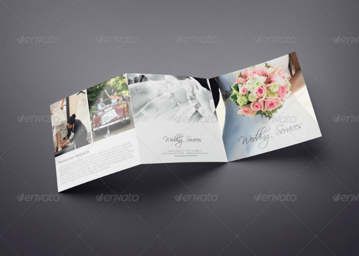 15 Wedding Brochure Designs Templates  Editable PSD AI