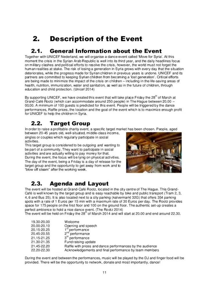 8 Event Proposal Templates Restaurant Cafe And Bakery