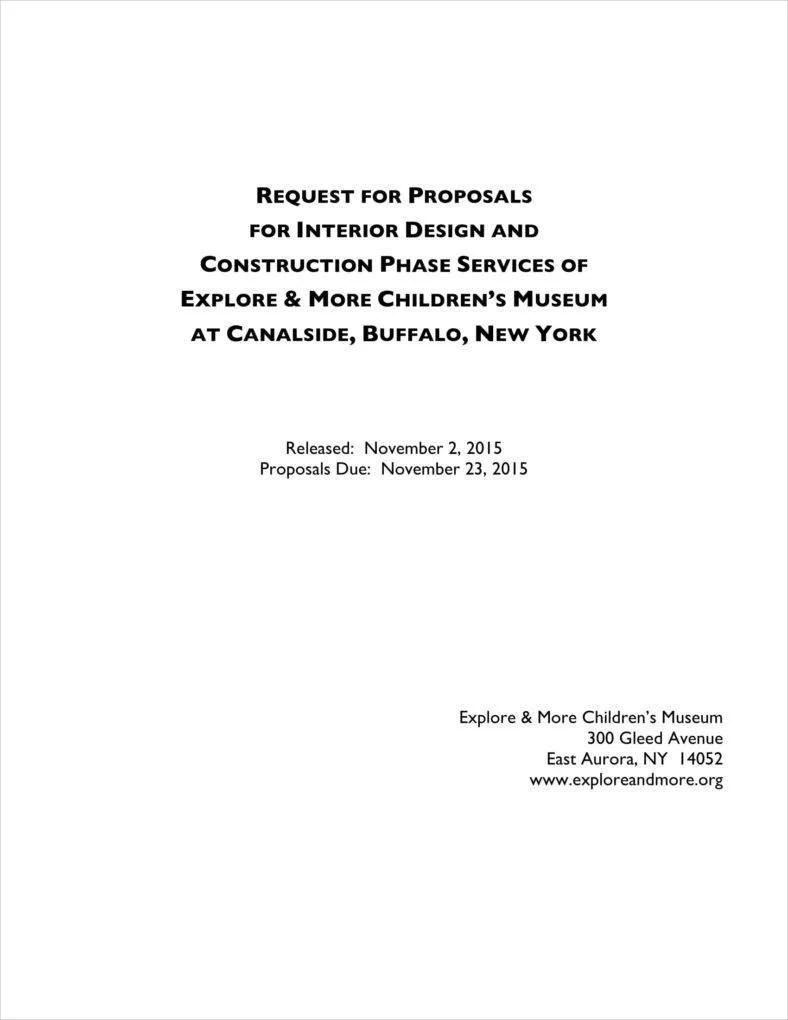 7 Interior Design Proposal Templates PDF Free & Premium Templates