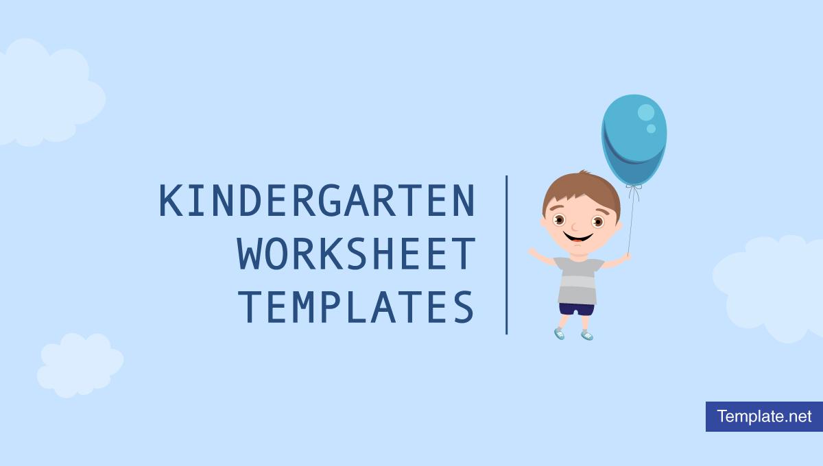 hight resolution of 6+ Kindergarten Worksheet Templates - PDF   Free \u0026 Premium Templates