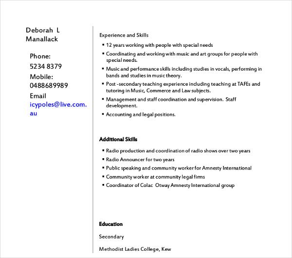 Grocery Store Clerk Resume Topl Tk