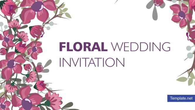 15 Fl Wedding Invitation Designs Templates Psd Ai
