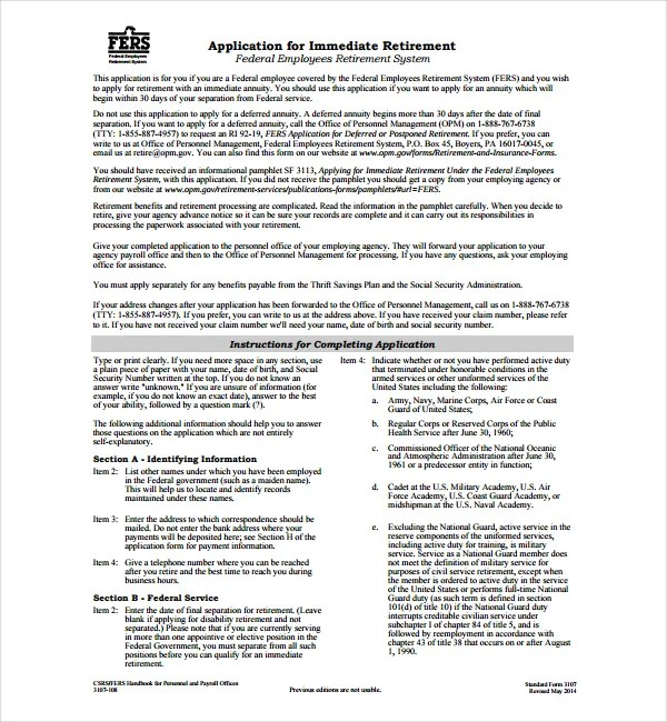 2 Early Retirement Letter Templates
