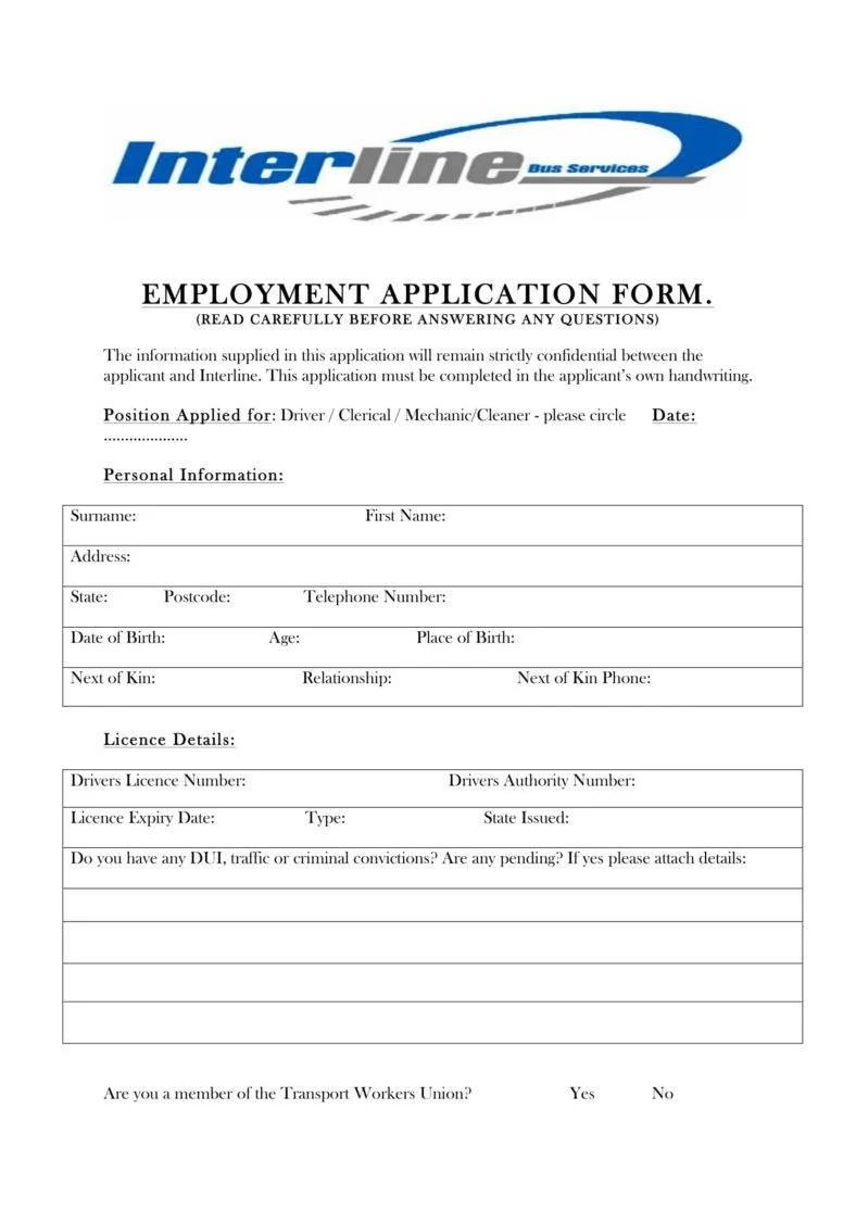 Tenant Information Form ] | Tenant Information Form, Tenant ...