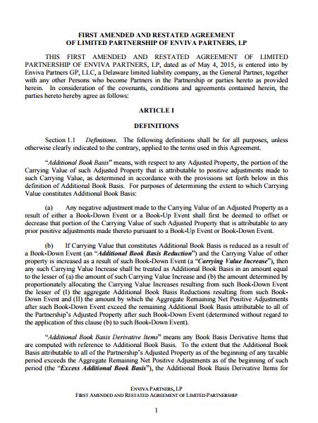 7+ Limited Partnership Agreement Templates - PDF | Free & Premium ...