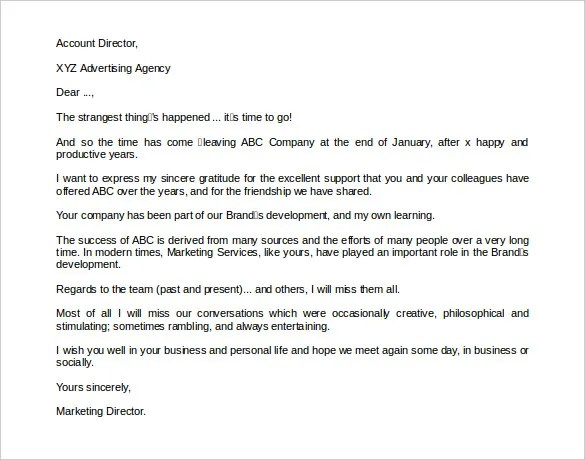 4 Sample Retirement Letter To Clients PDF DOC Free