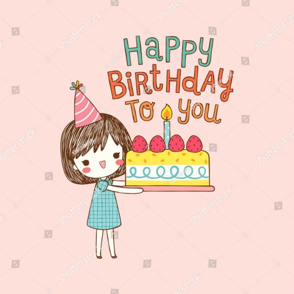 15 Girls Birthday Card Designs & Templates PSD AI