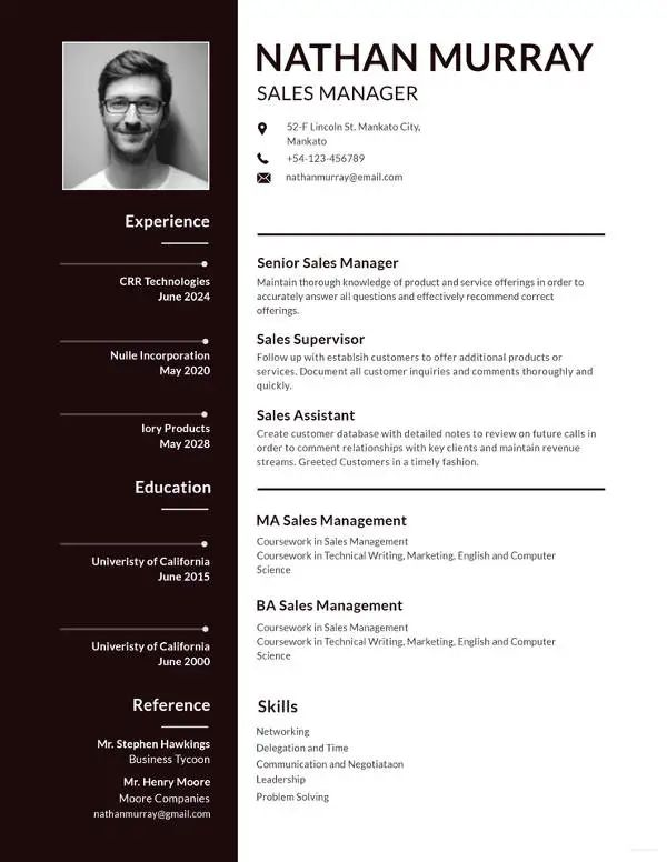apple pages resume template download free