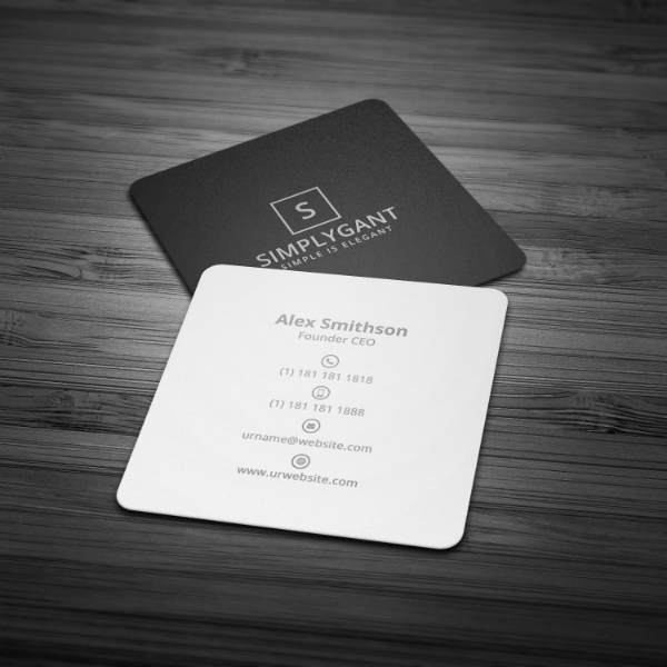 22 Minimal Business Card Templates Pages Word PSD Free Amp Premium Templates