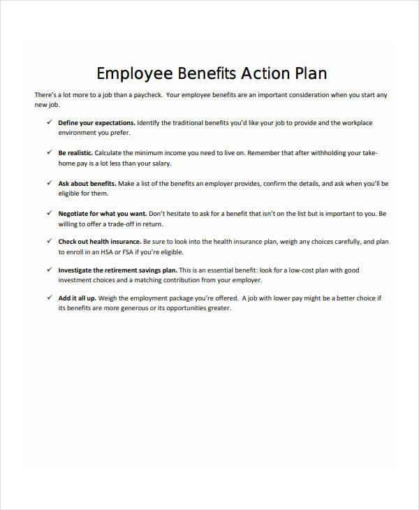 12+ Employee Action Plan Templates - PDF | Free & Premium Templates