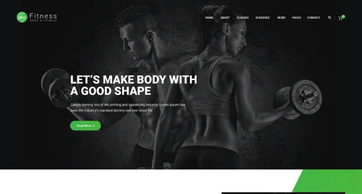 13 Fitness Coach Website Themes Templates Free Premium Templates