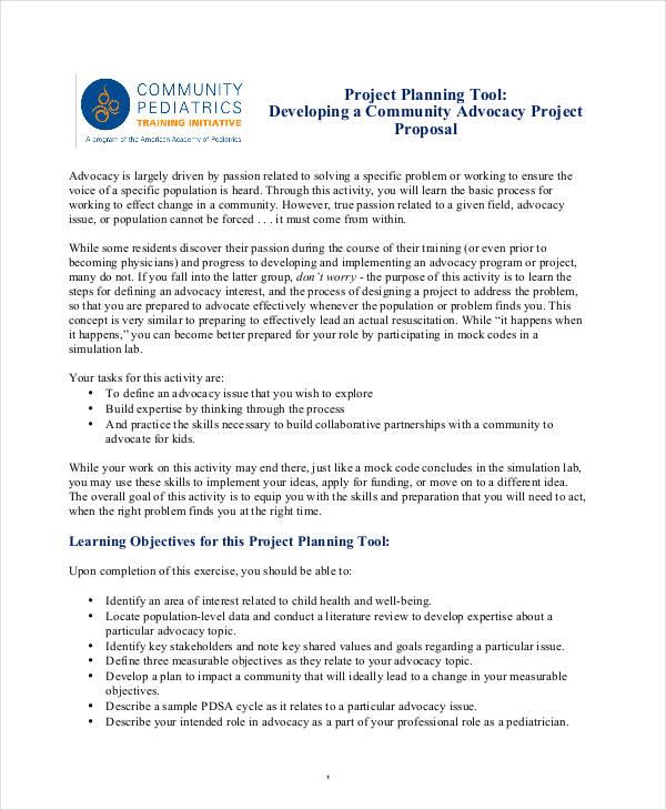 10 Community Project Proposal Templates  PDF Word  Free  Premium Templates