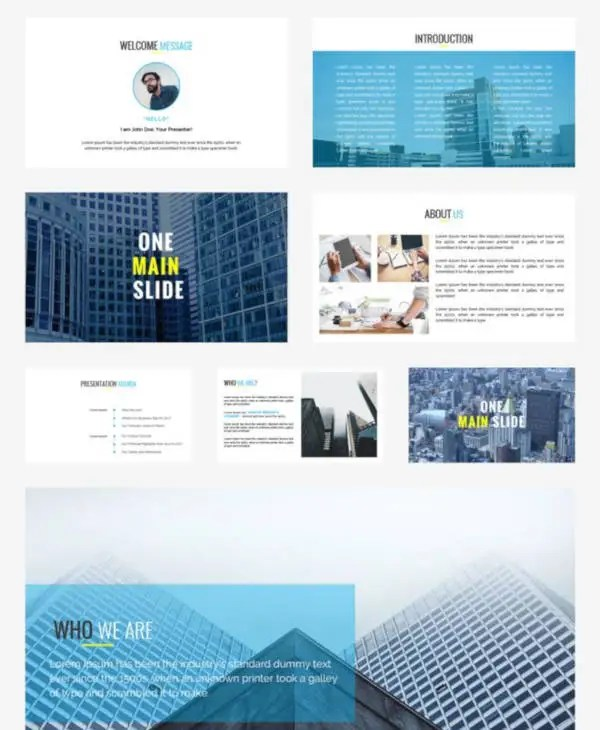 20 business plan powerpoint