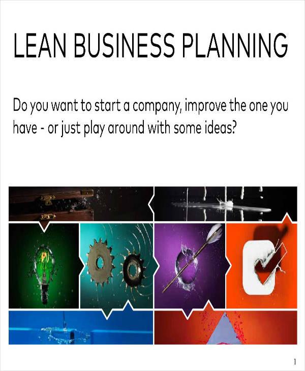 4 Lean Business Plan Templates PDF Word Free Amp Premium Templates