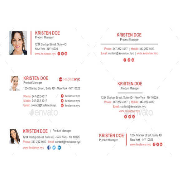 Automatically generate, esign, and send out agreements within a safe signnow workspace. 3 Logistics Email Signature Templates Psd Html Free Premium Templates