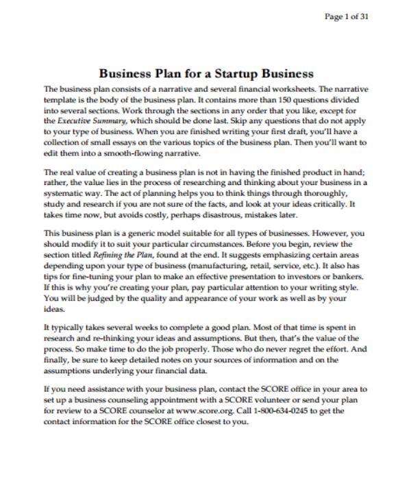 5+ Tech Startup Business Plan Templates - PDF. Word. Google Docs | Free & Premium Templates