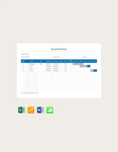 Free excel gantt chart template also templates  premium rh