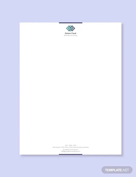 32 free download letterhead